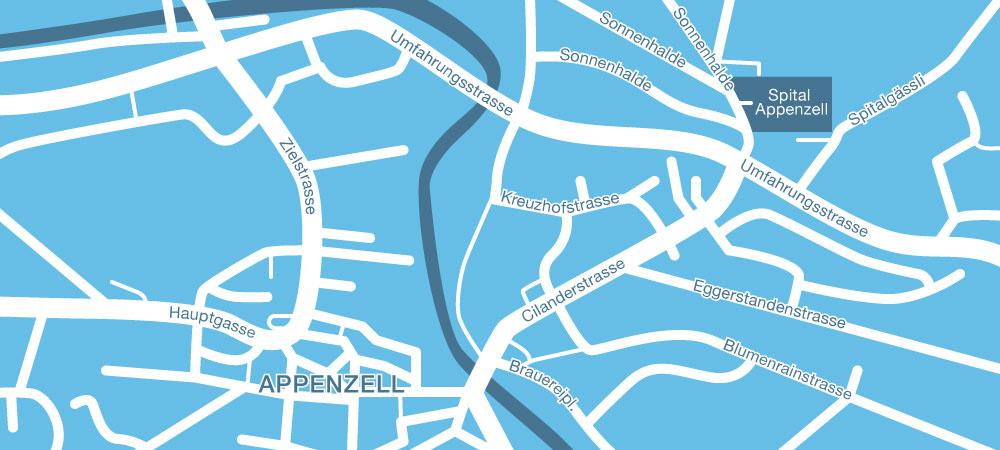 urologie_appenzellerland_appenzell-map